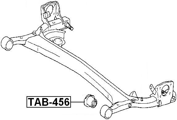 For TOYOTA YARIS NCP1#/NLP10/SCP10 1999-2005 ARM BUSHING