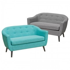 Teal Sofas Where Can I Donate A Sofa Cleo Fabric Two Seater Seat Grey