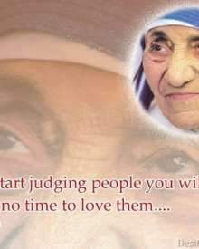 If You Judge People