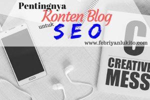 pentingnya konten blog untuk seo