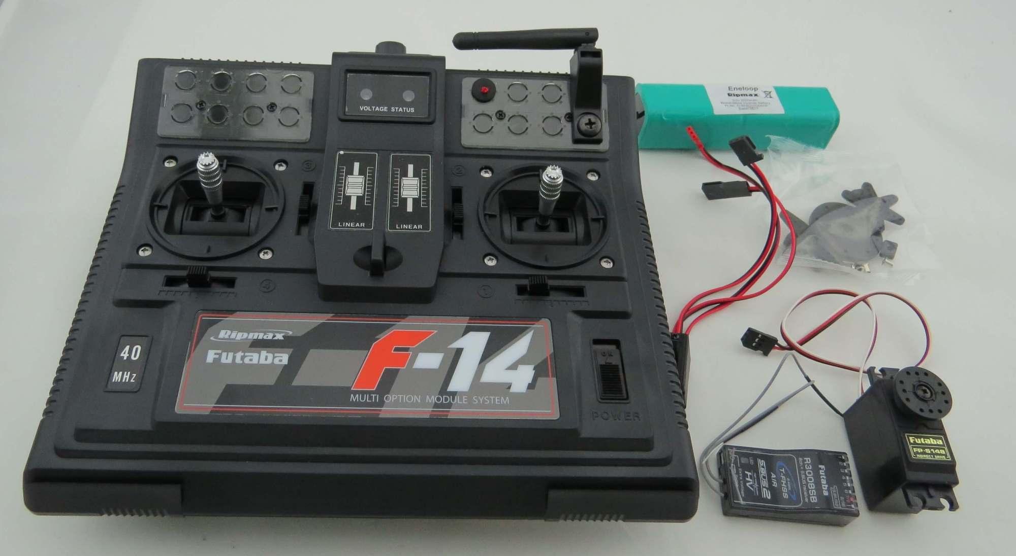 hight resolution of futaba remote control set f 14 p cbf14n24g 2 4ghz rc system fechtner modellbau shop
