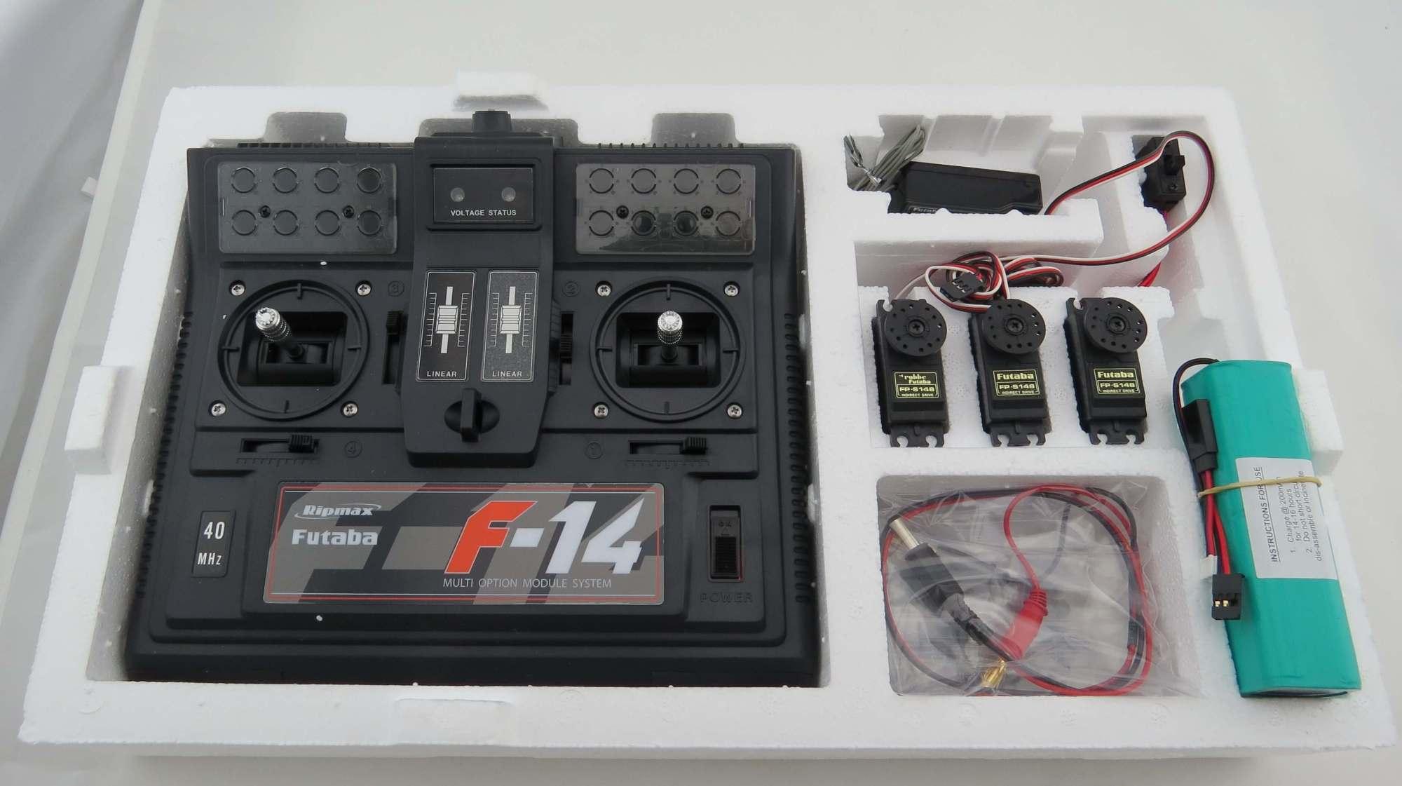 hight resolution of radio control robbe futaba f4014 f 14 40mhz rc system in fechtner modellbaushop