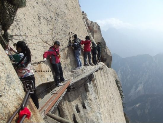 The Deadliest Trail On Earth Is Mount Huashan In China FECIELO
