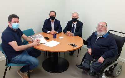 Reunión entre la Conselleria de Agricultura y la Asociación de Envasadores de Aceite