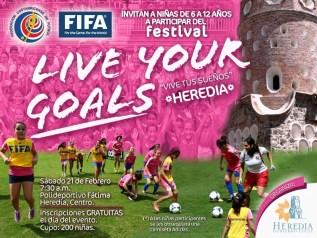 Afiche Live Your Goals Barrio Fatima, Heredia (1)