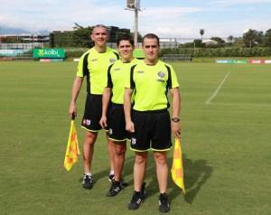 Warner Castro, Ricardo Montero y Juan C. Mora 1