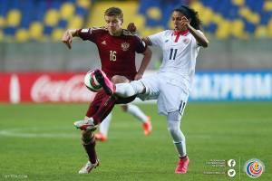 Barlon Sequeira CRC vs Rusia Mundial Chile 2015