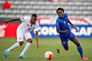 Jhamir Ordian- juego ante haiti