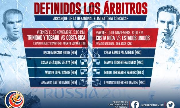 Hondureños y mexicanos nos pitarán en inicio de Hexagonal