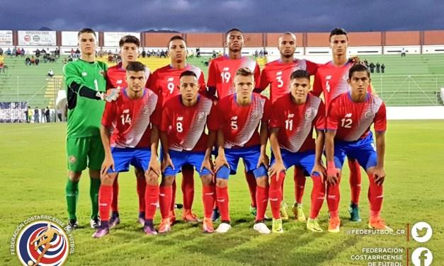 Sub 20 tuvo primer ensayo ante Honduras