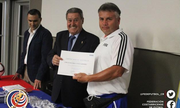 Cierra primer curso FIFA para regionales