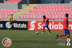 José Alfaro CRCvs CAN premundial Sub 17 abril 2017