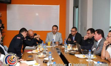 FEDEFUTBOL acerca a Clubes y Seguridad Pública