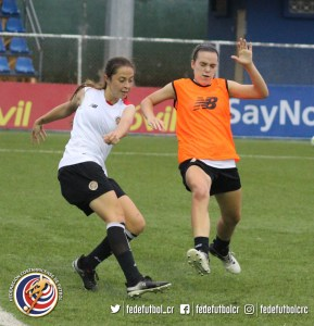 Sele Sub 17 Femenina, Entrenamiento en Panamá, octubre 2017 (2)