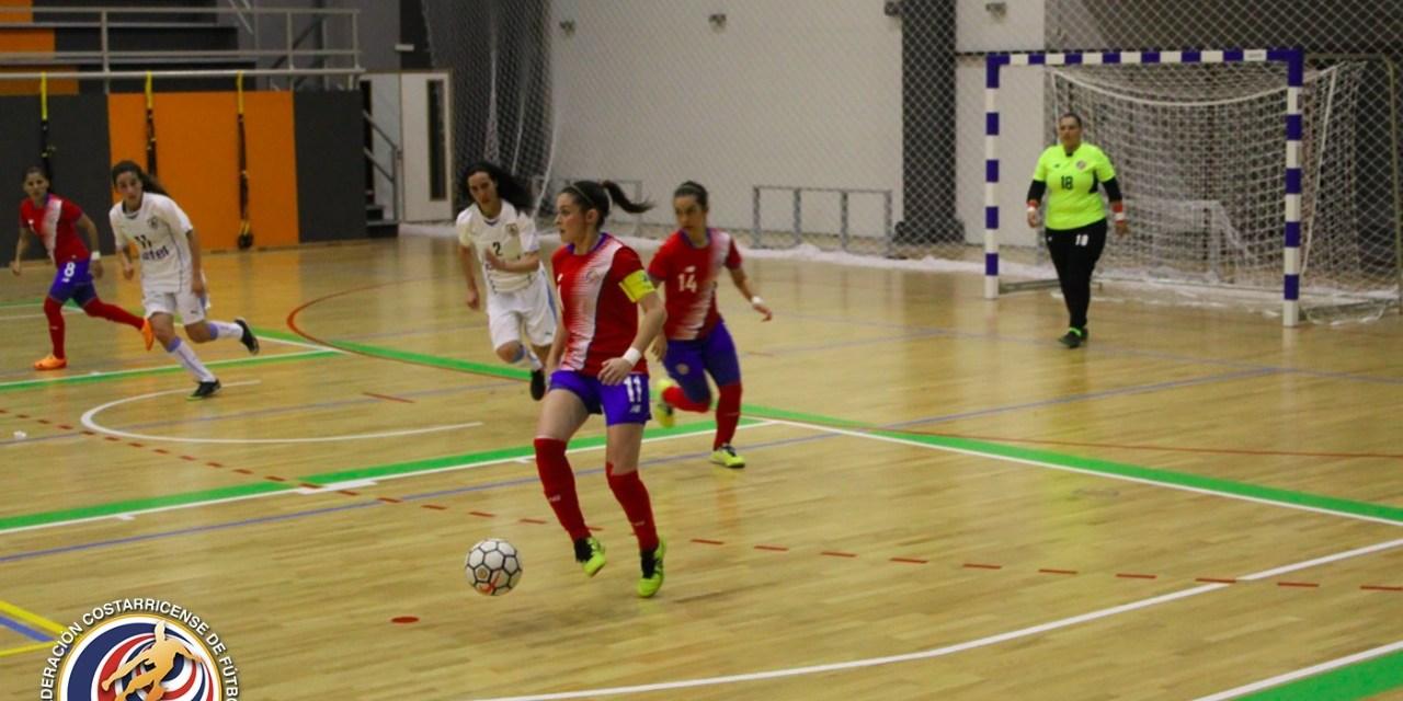 Futsal femenino se impuso ante Paraguay en fogueo