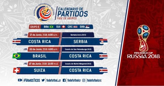 Calendario de partidos Mundial Rusia 2018 (1)