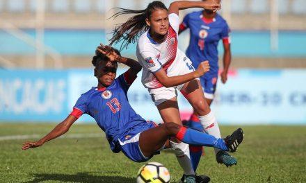 Femenina sub 20 cae ante Haití