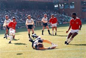 CRC vs Escocia en Italia 90