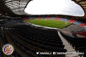 Estadio Hampden Park, Escocia vs Costa Rica previa partido 22 marzo 2018