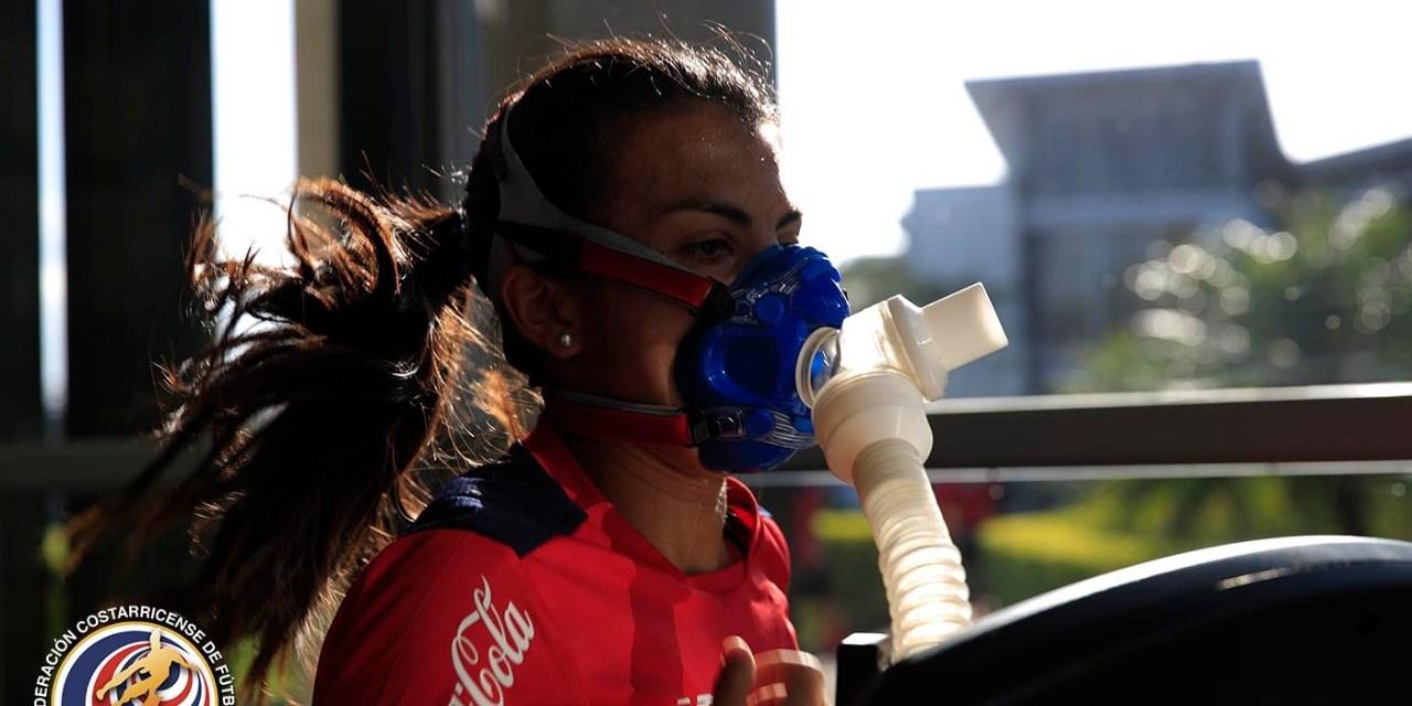 Ticas inician proceso olímpico con pruebas de oxígeno