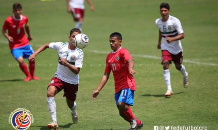 Infantil mostró gran cara ante México