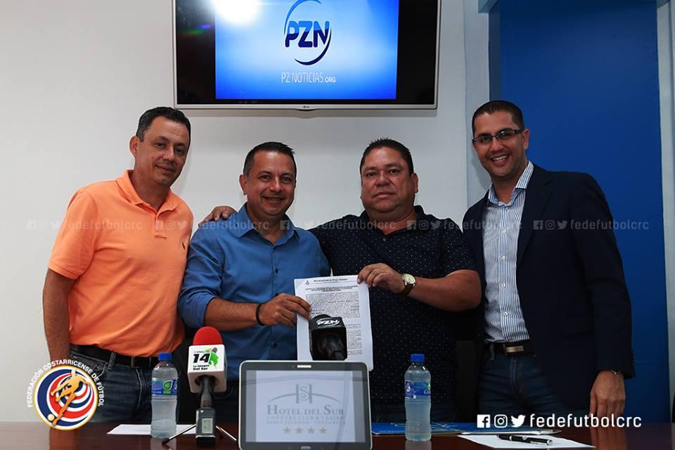 FEDEFUTBOL apoyará con fondos Forward al Pérez Zeledón