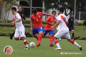 Sub 17 vs Perú 2