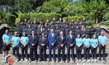 CONCACAF prepara árbitros en Costa Rica para torneos FIFA