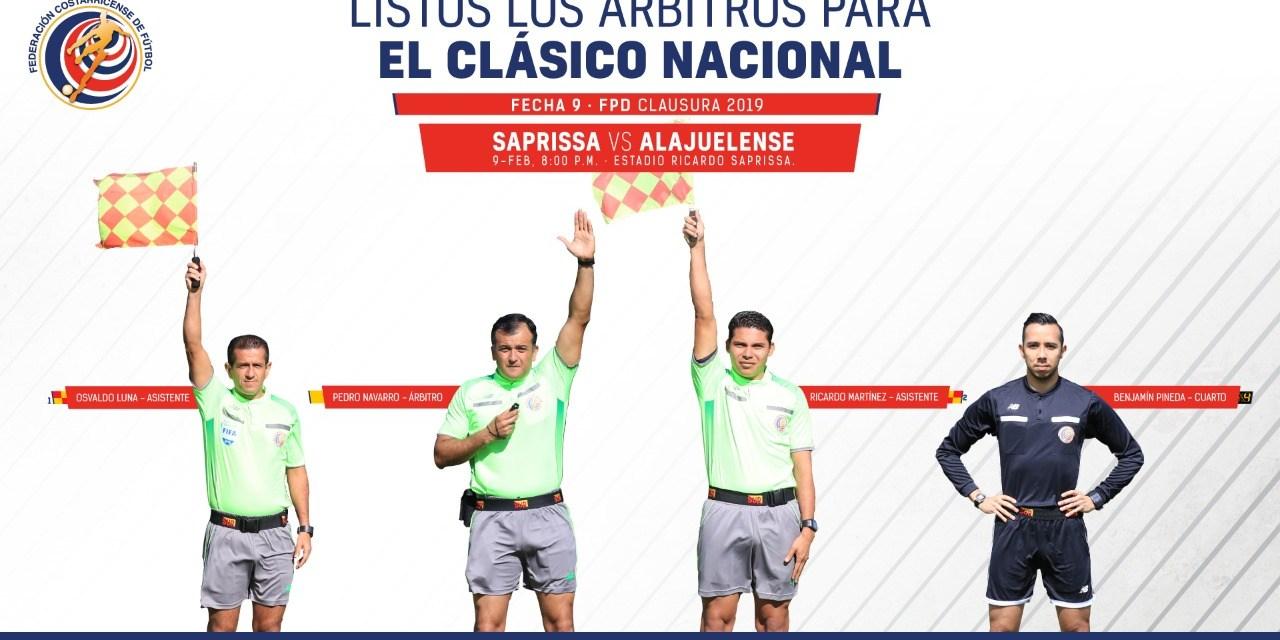 Pedro Navarro dirigirá su primer Clásico Nacional