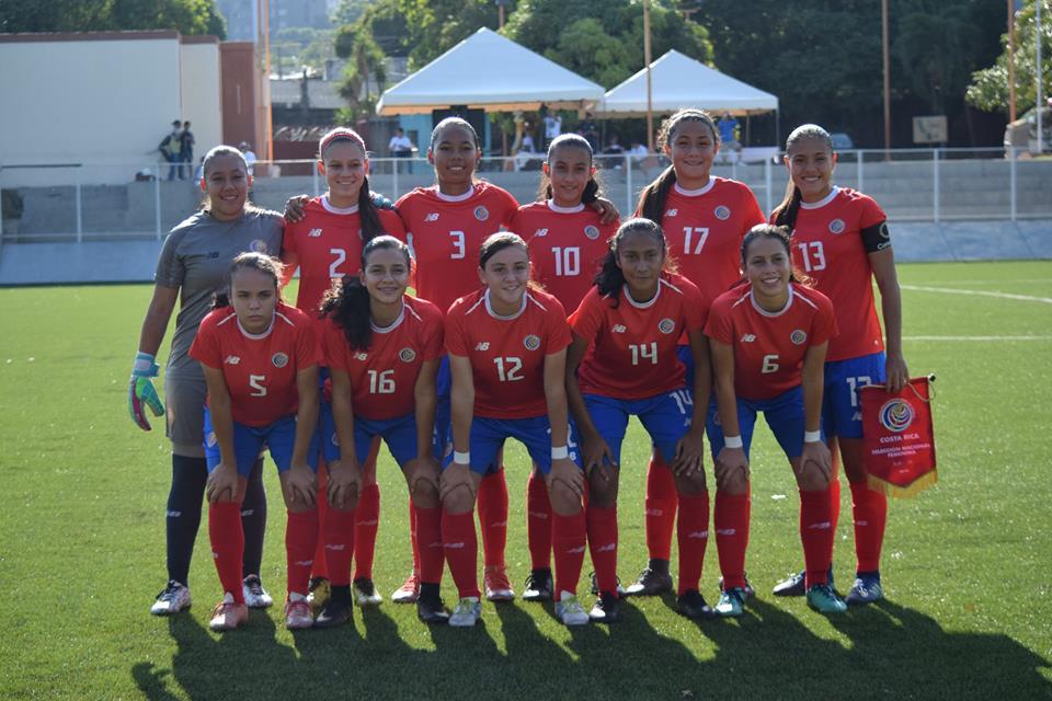 Costa Rica clasifica a la final del torneo sub 16 de UNCAF