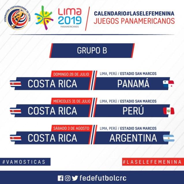 Juegos Panamericanos 2019 Calendario Futbol.La Sele Femenina Ya Tiene Rivales Para Los Juegos