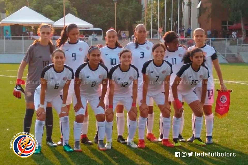 Infantil femenina sigue invicta en torneo UNCAF