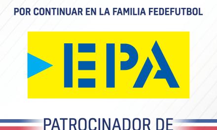 FEDEFUTBOL renueva patrocinio con EPA