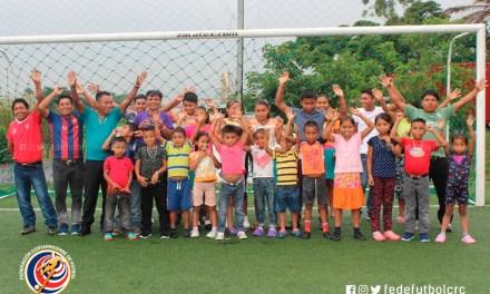 Comunidad Cabécar visitó la FEDEFUTBOL