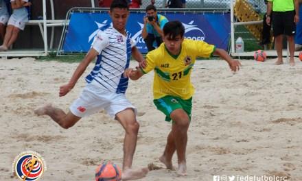 Fútbol Playa de Juegos Nacionales toma la FEDEFUTBOL