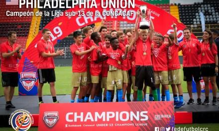 Philadephia campeón de la Liga sub 13 de CONCACAF