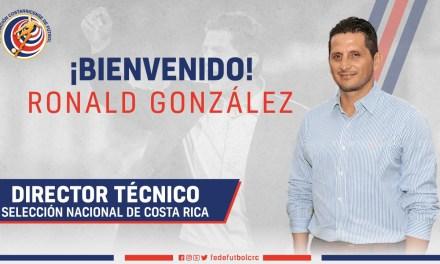 Ronald González nombrado técnico de la Selección Nacional
