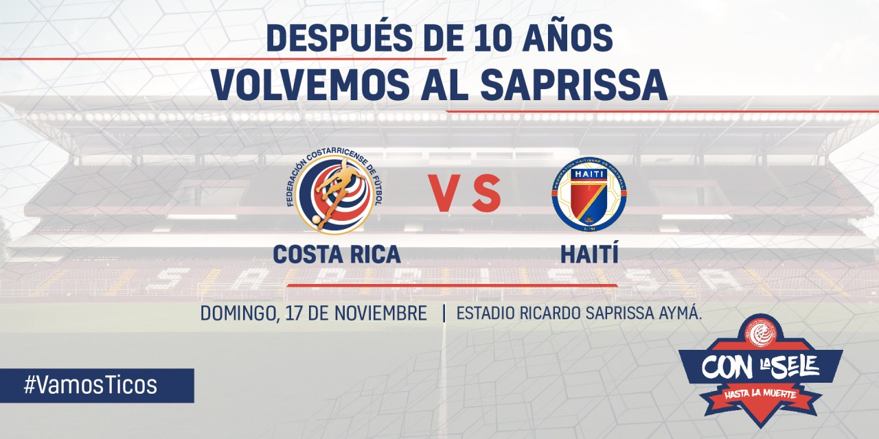 A comprar de una vez la entrada para el partido ante Haití