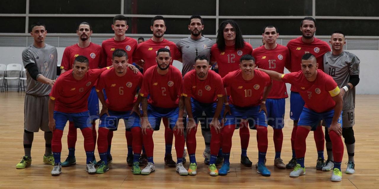 Sele de Futsala tuvo su primer juego ante Canadá