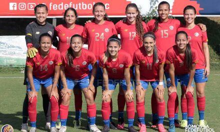 Ticas golean a Guatemala en amistoso internacional