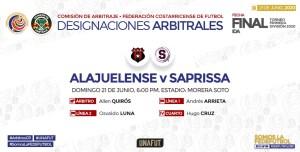 Arbitros Final ida