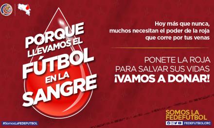 ¡Vamos a donar sangre!: Campaña de la Fedefútbol busca héroes