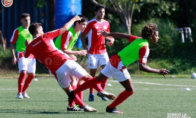 Repetición de movimientos marca el trabajo de la Sub-20 masculina