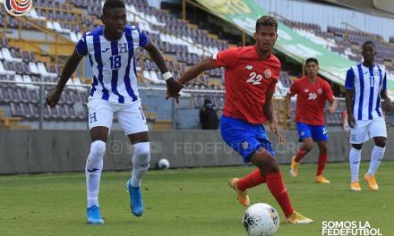 Preolímpica culmina amistosos con empate ante Honduras