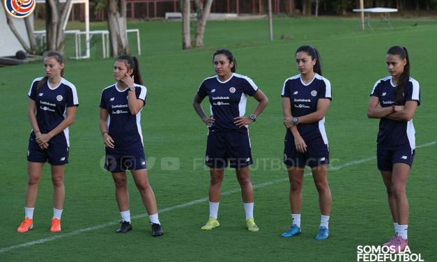 Selección Femenina se encuentra en México y está lista para primer amistoso