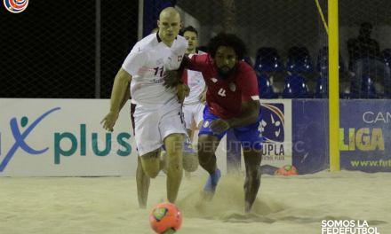 Selección de Fútbol Playa culminó serie de fogueos ante una potencia mundial