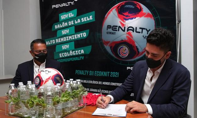 Penalty fortalecerá a las Selecciones Nacionales  con el primer balón ecológico certificado por FIFA