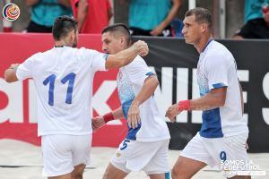 CRC vs USA Sele de Playa Eliminatoria Concacaf 2021