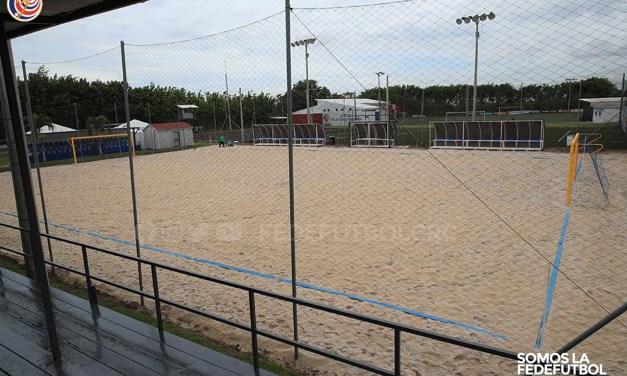 Fedefútbol ya está lista para recibir el Campeonato de Fútbol Playa de Concacaf