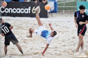 Greivin Pacheco CRC vs USA Eliminatoria Futbol Playa 2021